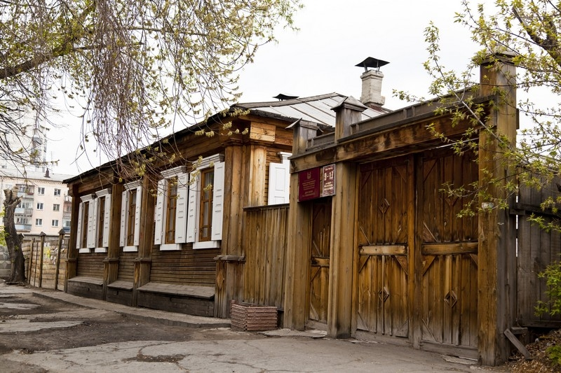 Дом декабриста В.К. Кюхельбекера. Ул. Куйбышева, 19