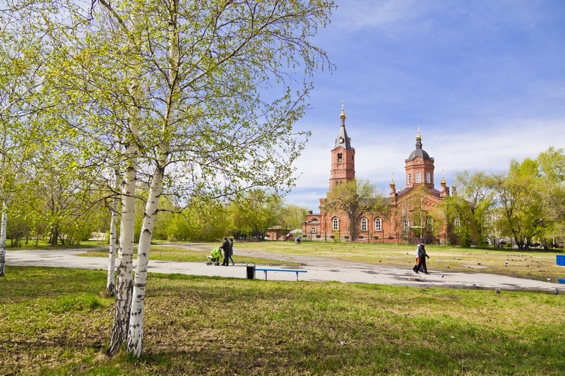 Памятник культового зодчества - Александро-Невская церковь, ул. Володарского, 42