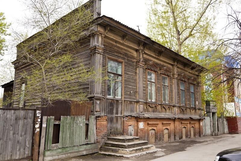 Дом, входящий в ансамбль улицы, ул Куйбышева, 20