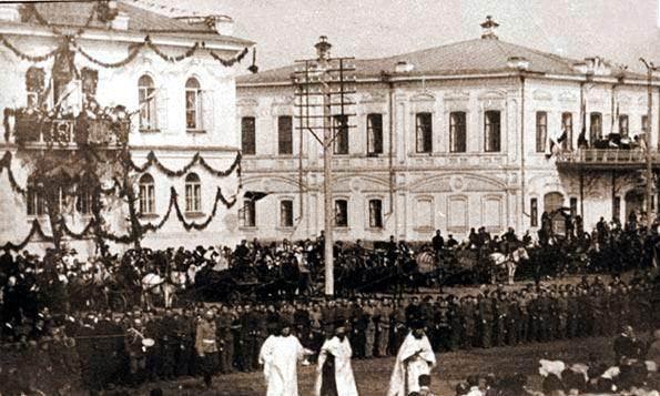 Дом городского головы Ф. В. Шветова, Куйбышева, 45