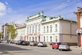 Здание бывшей Александровской женской гимназии, Куйбышева, 55