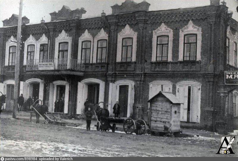 Здание Союза сибирских маслодельных артелей, ул.Куйбышева, 57