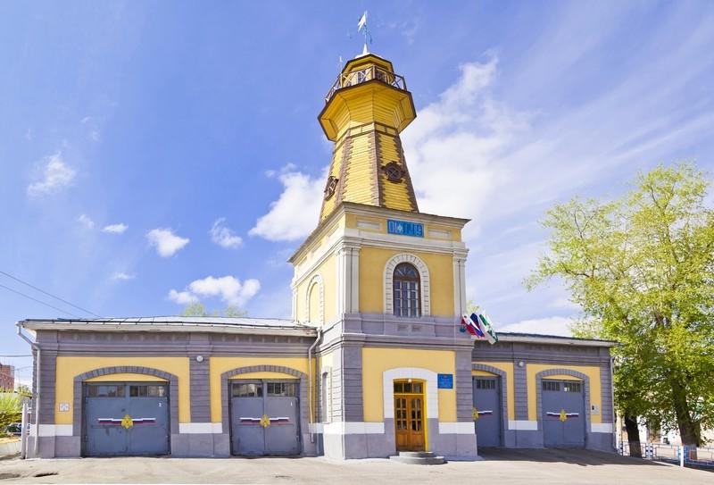 Пожарное депо, ул.Куйбышева, 62