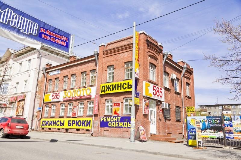 Дом, построенный в стиле чистого «модерна» в кирпиче, ул. Ленина, 30