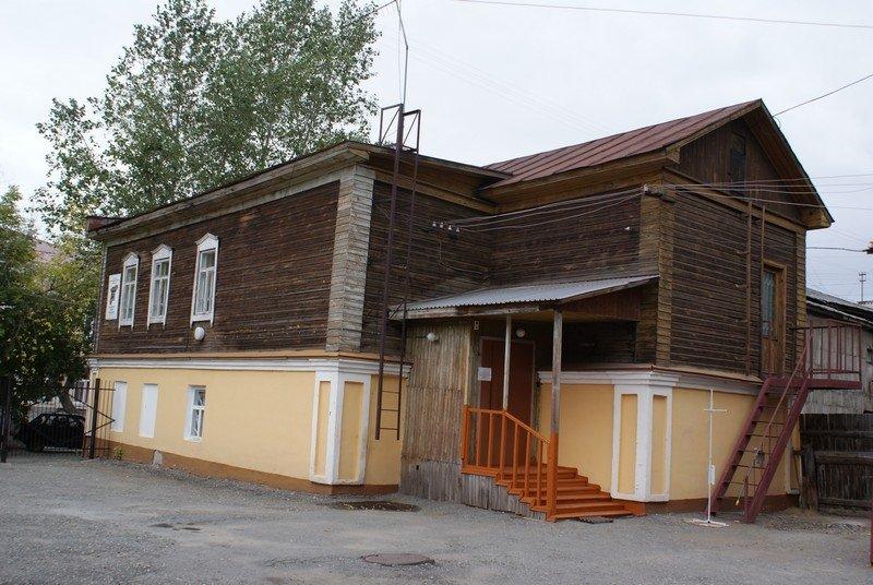 Дом, связанный с историей курганских большевиков, ул.Советская, 116