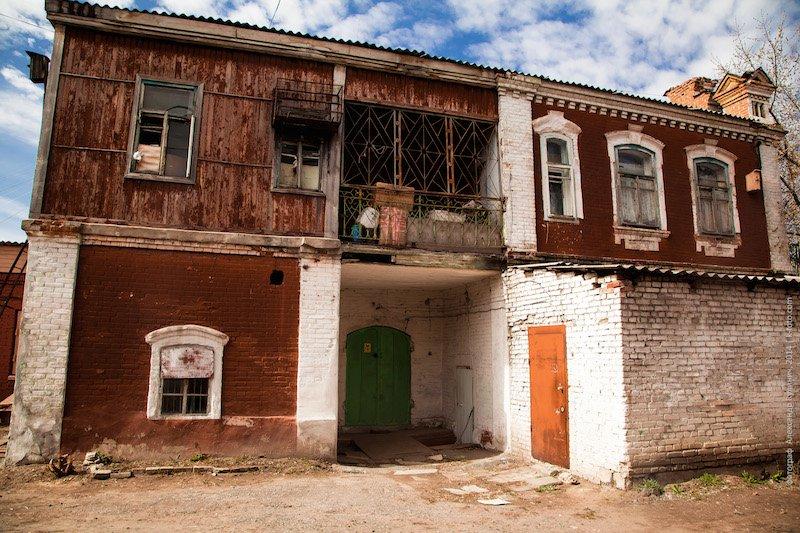Дом купца Д.П.Кропанина, ул. Советской, 142
