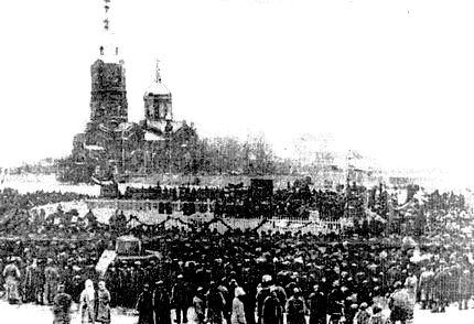 Обелиск памяти павших комиссаров в борьбе за власть советов,  Городской сад