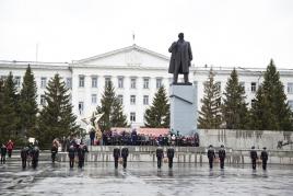 Памятник В.И. Ленину, Центральная площадь