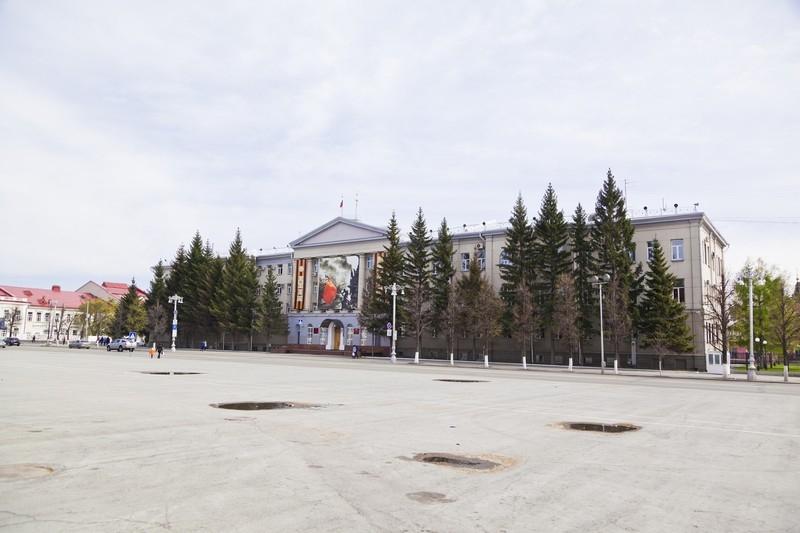 Здание Администрации Курганской области, ул. Гоголя, 56