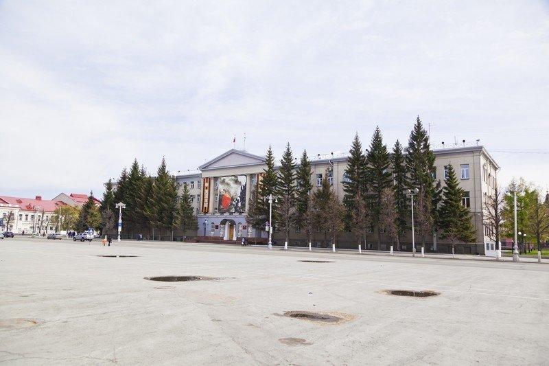Здание Администрации Курганской области