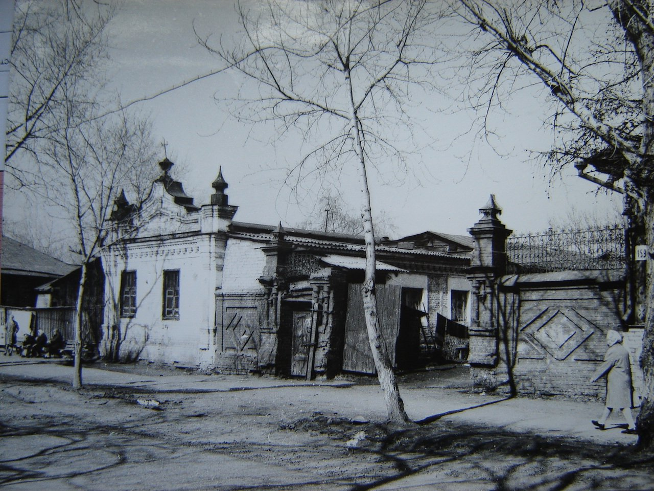 Флигель усадьбы П.В.Соколова, ул. Советская, 157  (снесен)