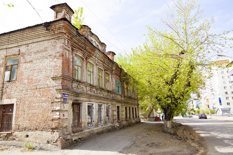 Жилой дом подрядчика Р.П.Кошкина, ул. Томина, 77