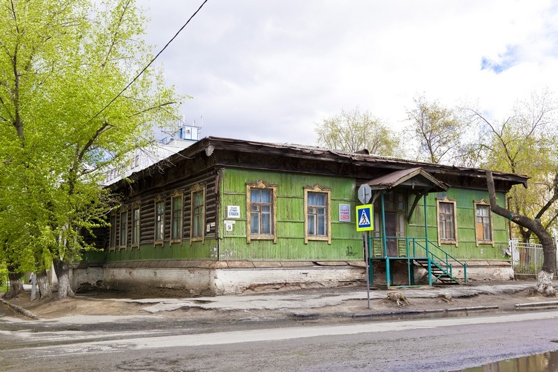 Здание Богородице-Рождественского приходского училища (снесен), ул.Кирова, 56