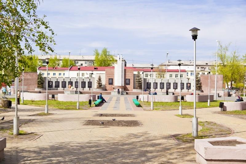 Городское кладбище, парк Победы