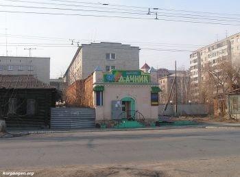 Жилой дом и флигель купца Д.П.Юшкова