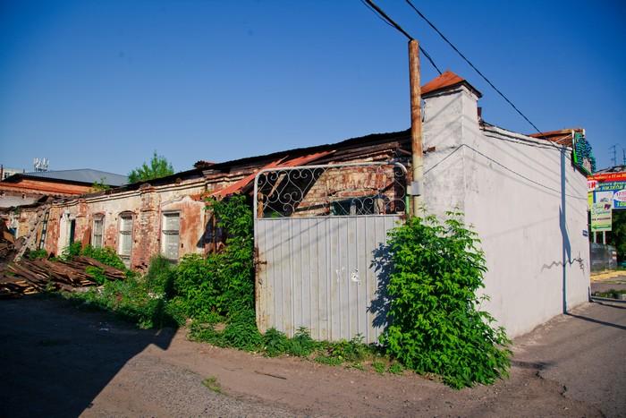 Хозяйственные постройки наследников Е.Ф.Смолиной (снесены), Пролетарская, 11