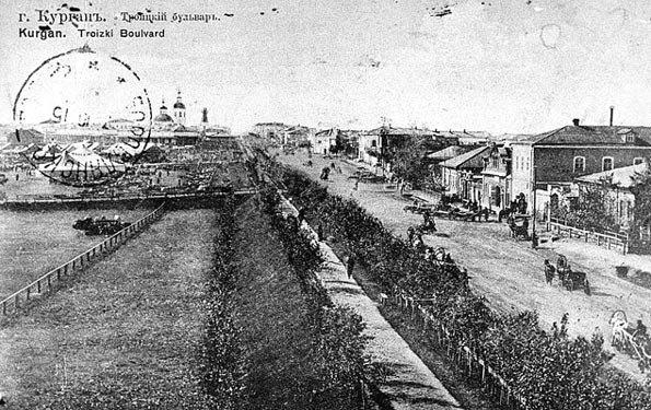 Каменный корпус с конторой купцов Поклевских-Козелл
