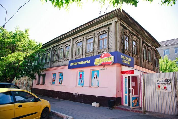 Жилой дом мещанина П.Г.Саламатова, ул.Советская, 118