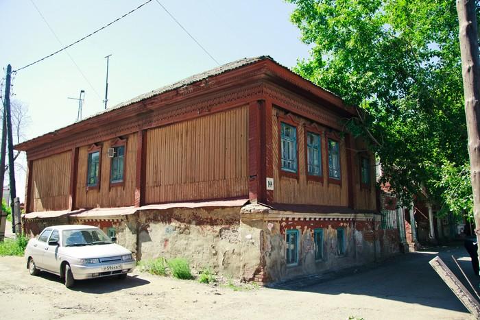 Флигель купца Д.П.Кропанина, ул. Советская, 144