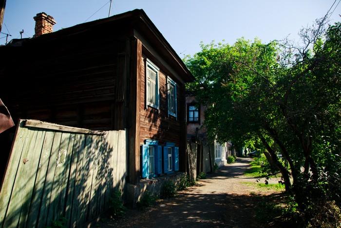Жилой дом и флигель А.И.Букина, ул.Климова, 29, 31