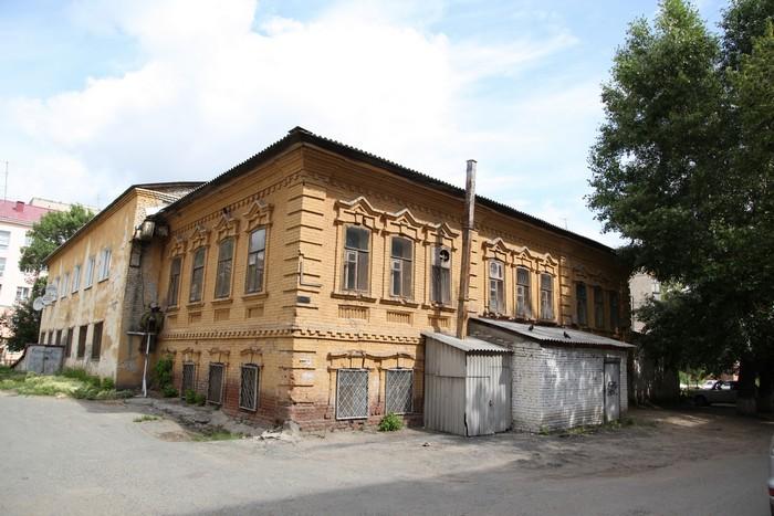 Жилой дом П.А.Михеева,  ул.Урицкого, 117