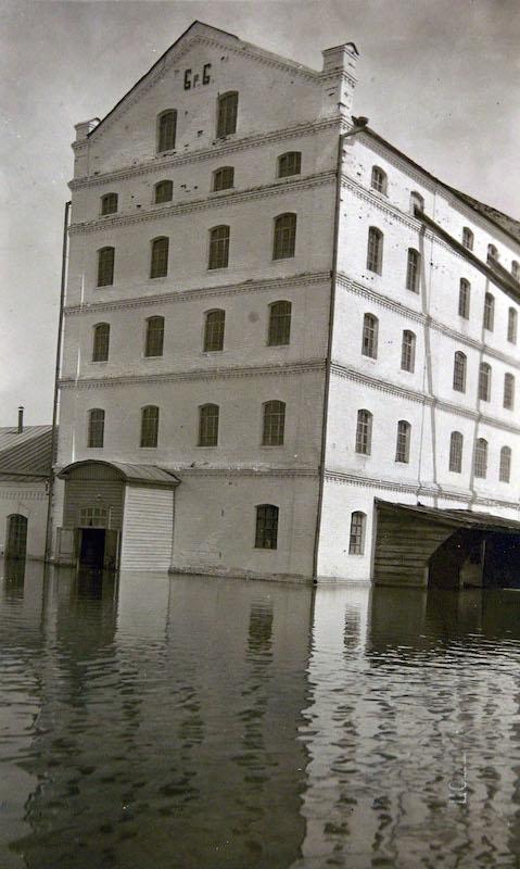 Здание мельницы братьев Бакиновых, ул.Набережная, без номера