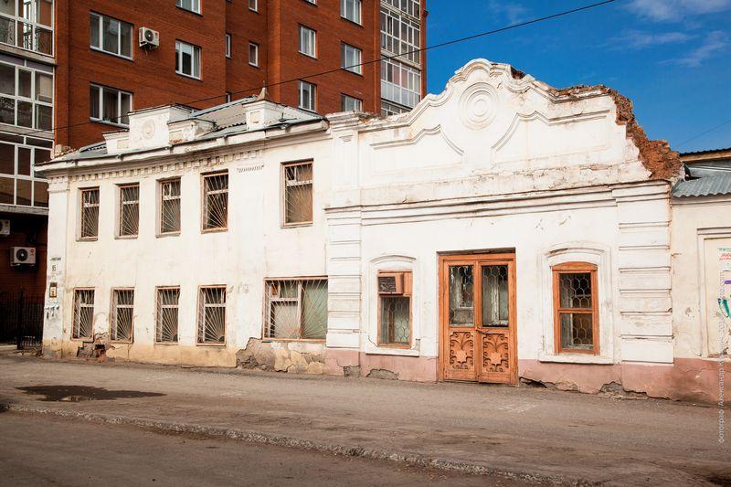 Флигель купца П.Ф.Колпакова, ул.Горького, 108