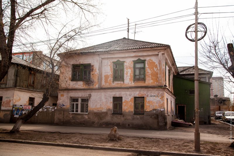 Жилой дом И.И.Екимова, ул. Советская, 100