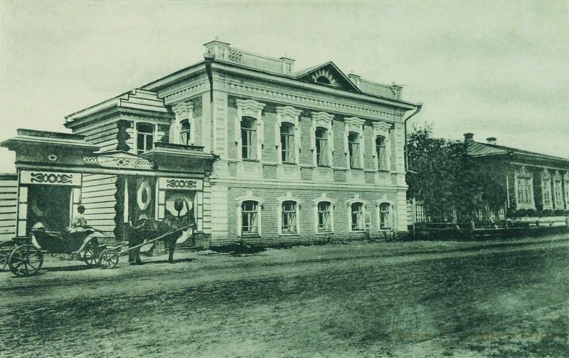 Жилой дом М.И. Харламовой, ул. Советская, 153