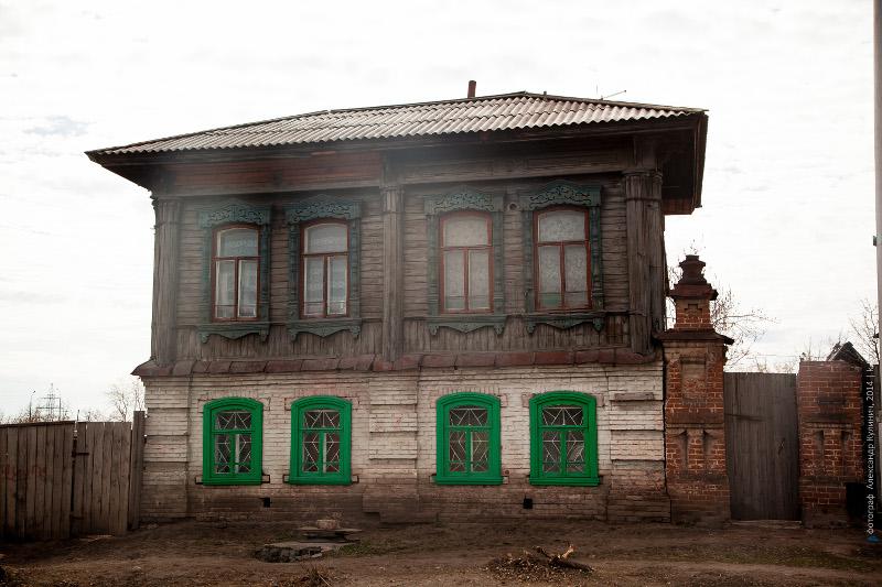 Жилой дом наследников Д.И.Хлызовой, ул. Сибирская, 10