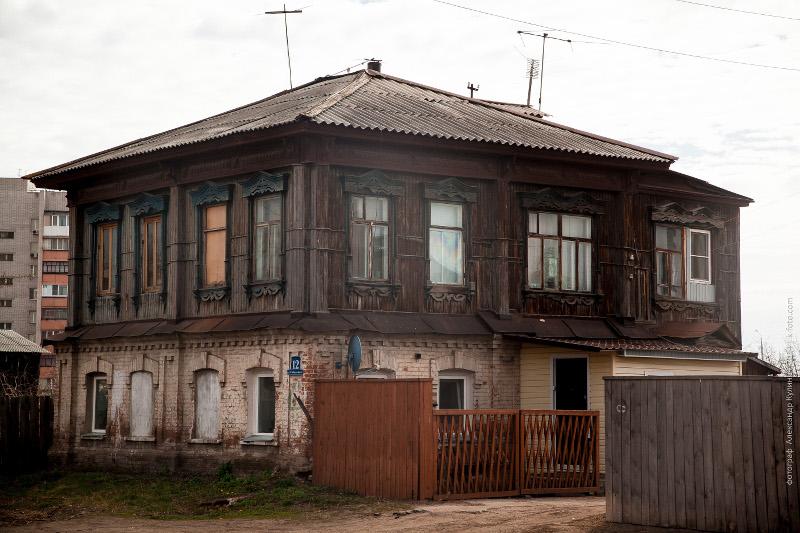 Жилой дом В.Д.Крыловой, ул. Сибирская, 12