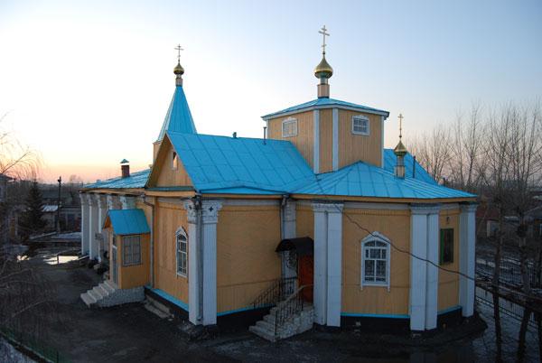 Свято-Духовная церковь  п.с.т. Смолино, пер. Малый, 12