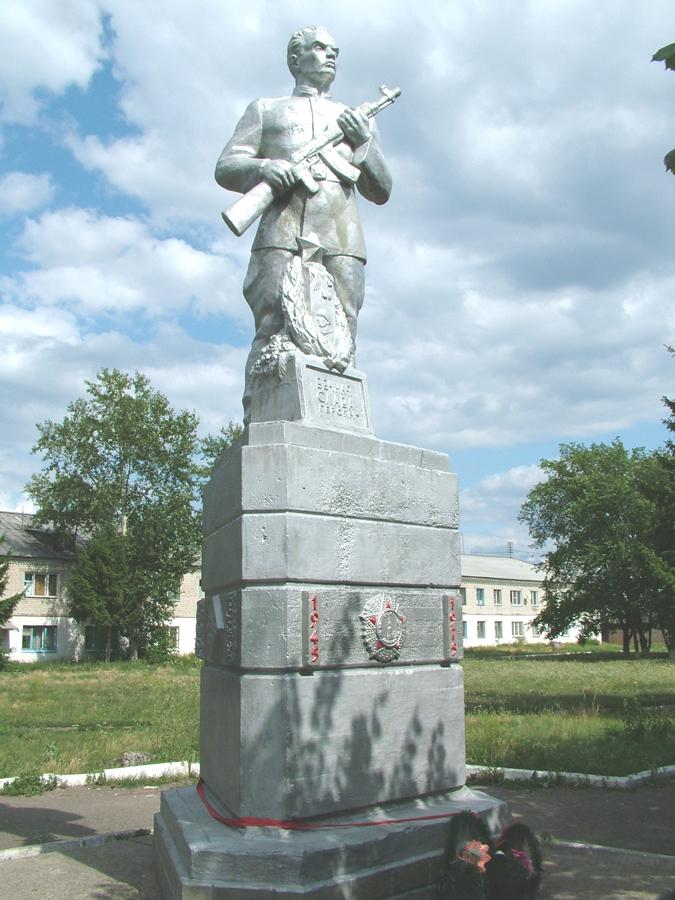 Памятник воинам, погибшим в годы Великой Отечественной войны (микрорайон Тополя)