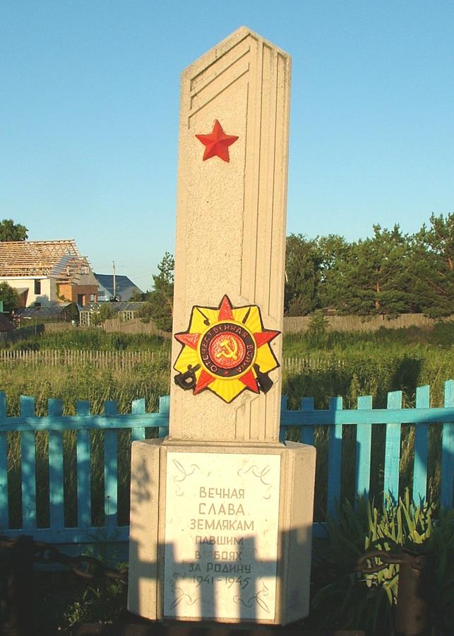Памятник воинам, погибшим в годы Великой Отечественной войны (микрорайон Шепотки)