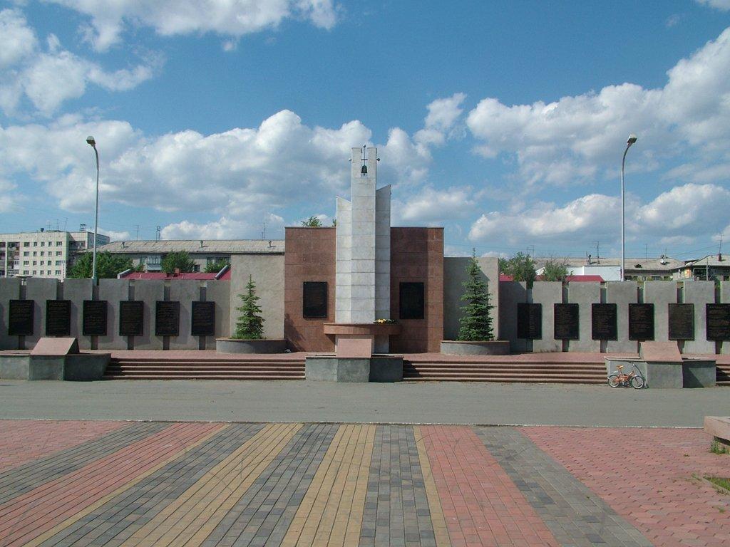 Стена памяти (улица 9 января, парк Победы)