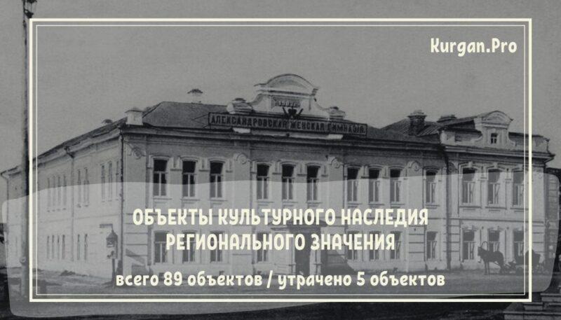 Объекты культурного наследия регионального значения